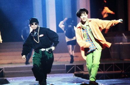 Chuli and Miae performing in the 90s