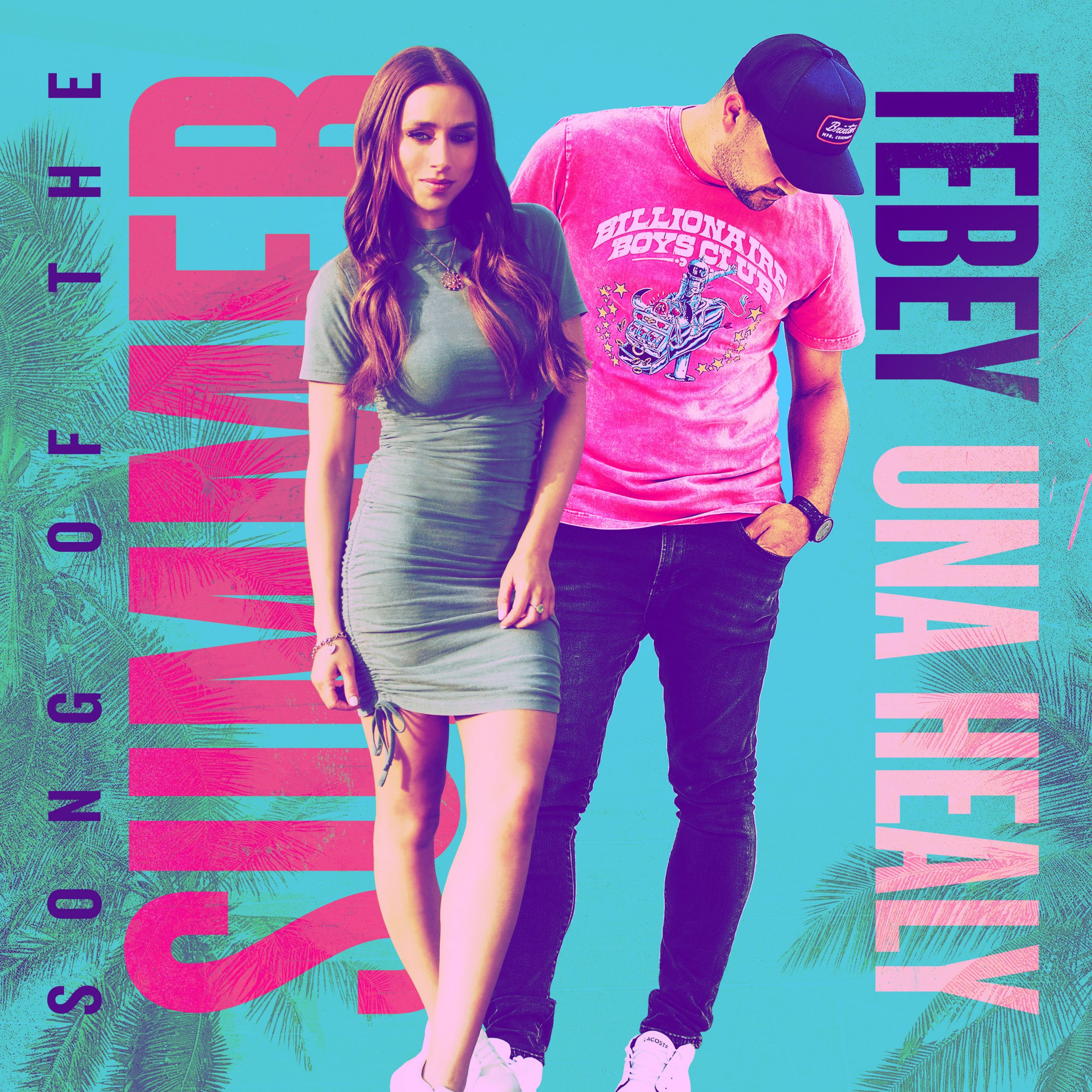 """Read more about the article Canadian Country Artist Tebey Releases Vibrant New Single """"Song of the Summer"""" With Una Healy"""