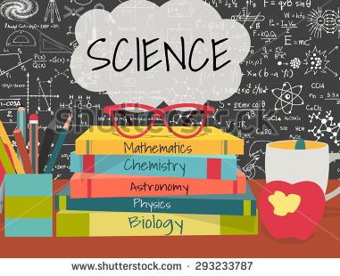 stock-vector-science-in-speech-bubbles-above-science-books-pens-box-apple-and-mug-with-science-doodles-on-293233787