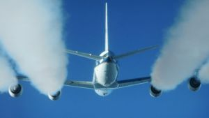 airplane chemtrail