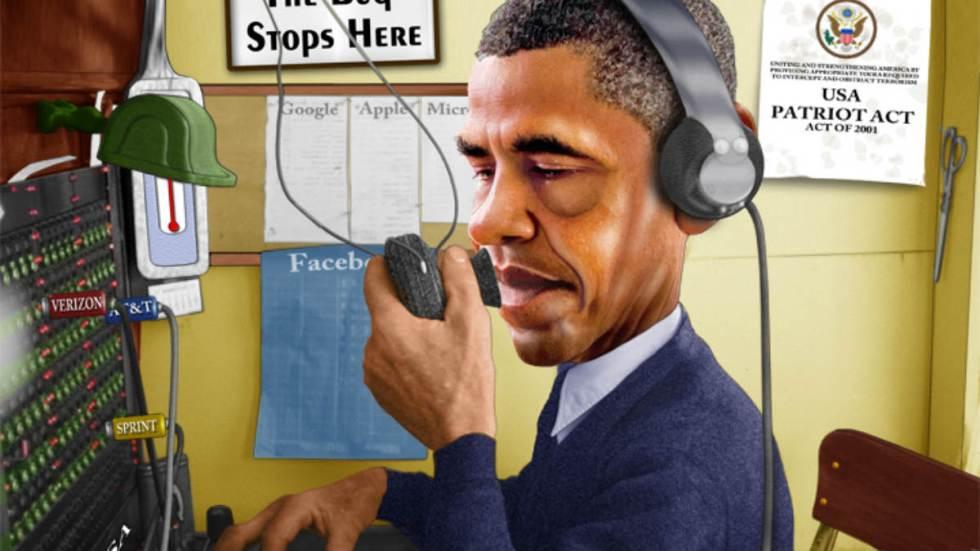 Obama spying