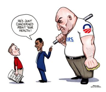 IRS bully healthcare