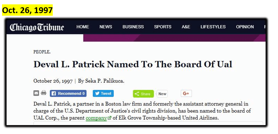 Patrick United Airlines