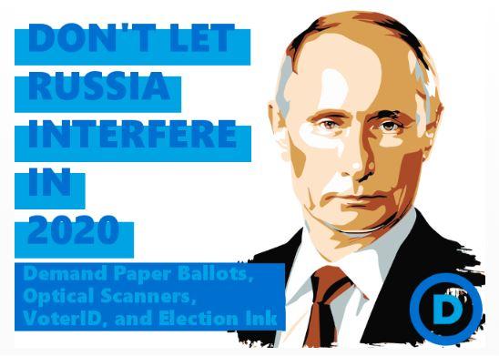 2020 election Putin