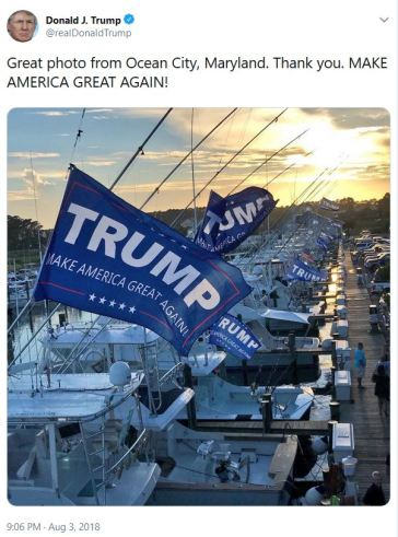 Trump boats