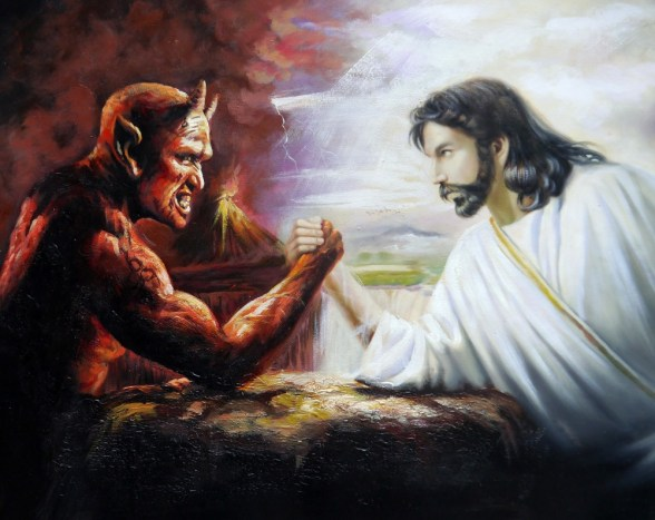 devil and jesus