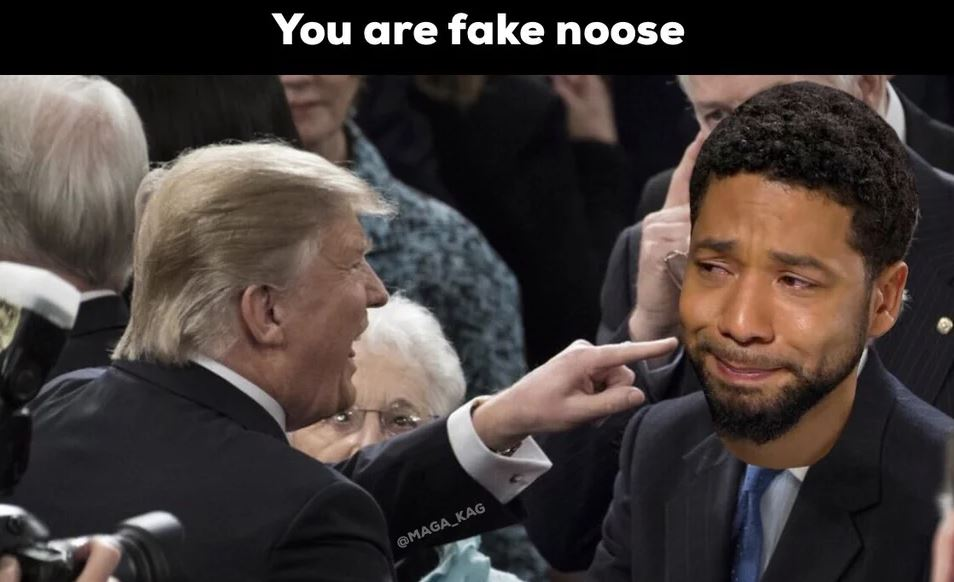you are fake noose