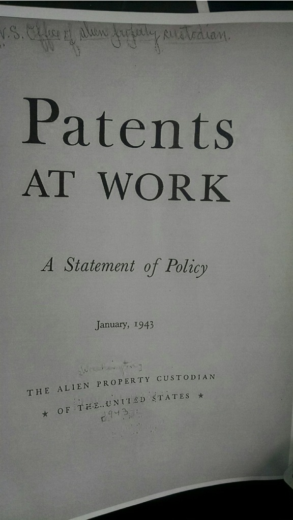 patents at work 1