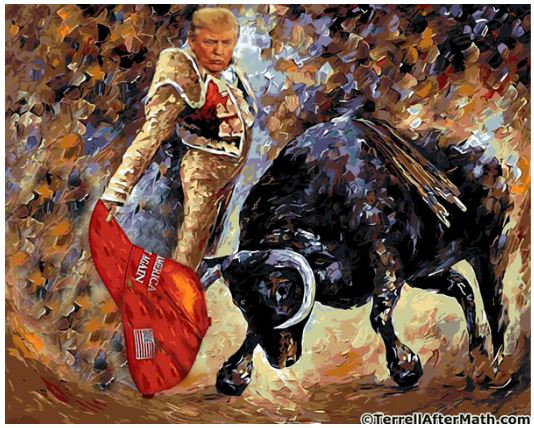 trump bull fighting.JPG