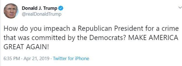 tt impeach president