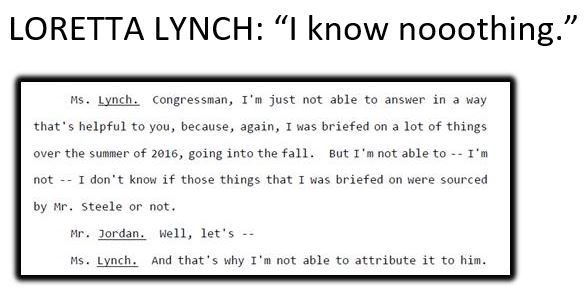 lynch i know nothing