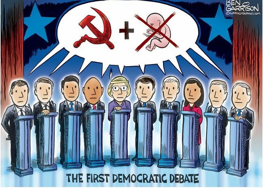democrat debates garrison.JPG