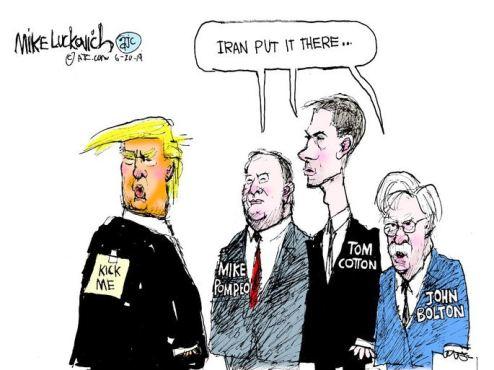 trump kick me