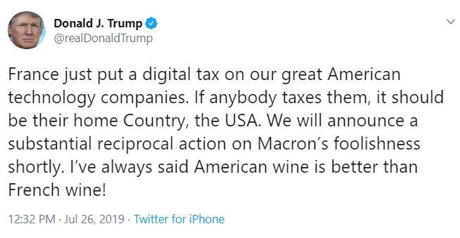 french tariffs