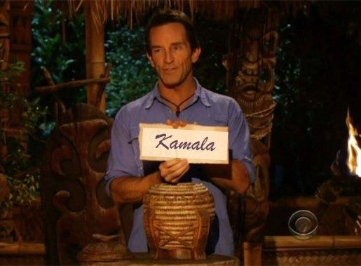 kamala voted off island 2