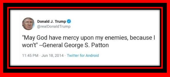 trump george patton
