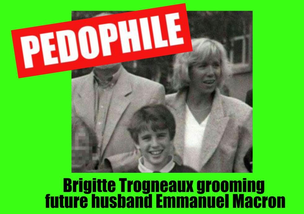 brigitte macron pedophile