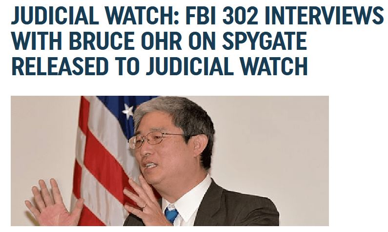 judicial watch ohr