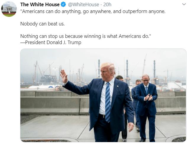 white house trump win