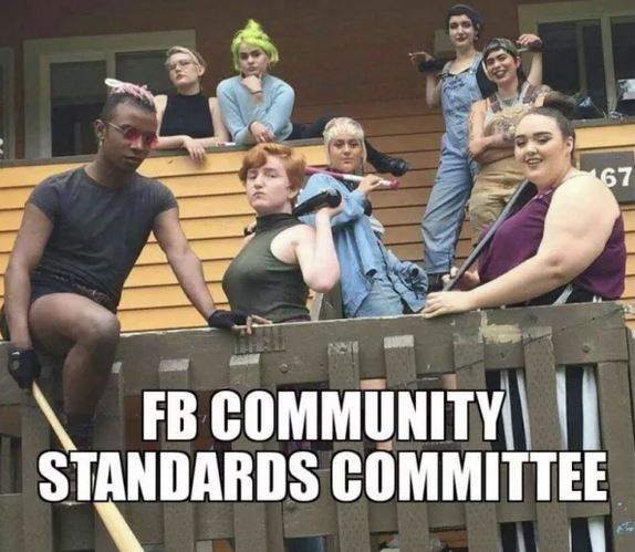 facebook liberals censor