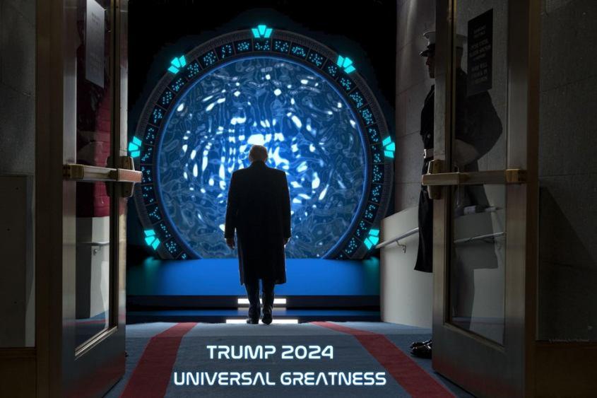 trump 2024 inaugaration