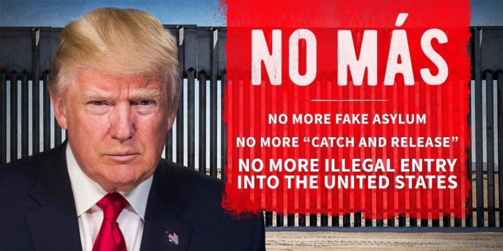 trump do not enter 1