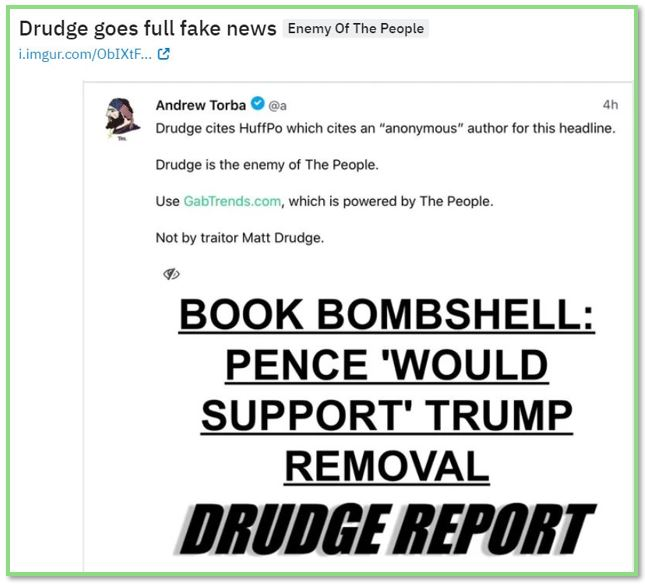 drudge fake news