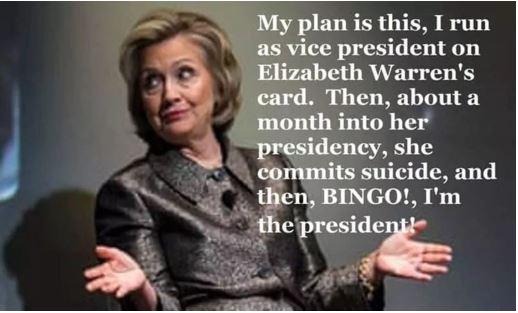 hillary plan for president