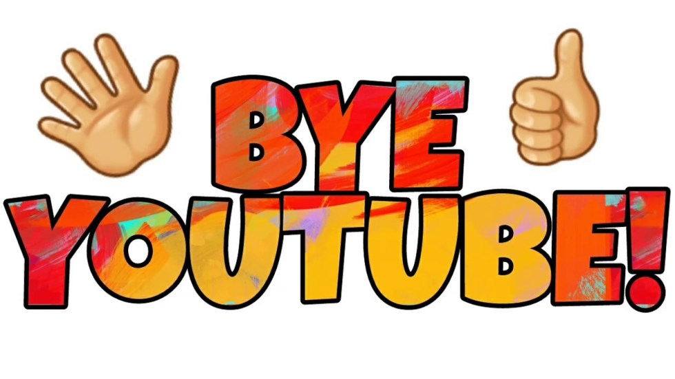 youtube goodbye
