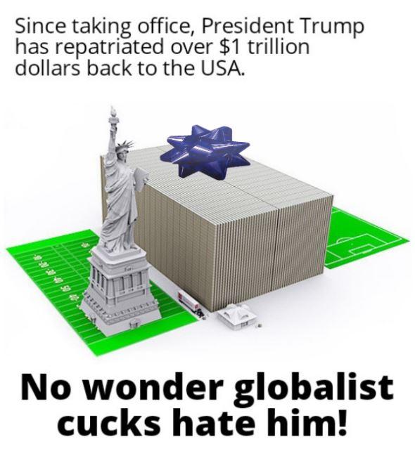 dollars repatriated
