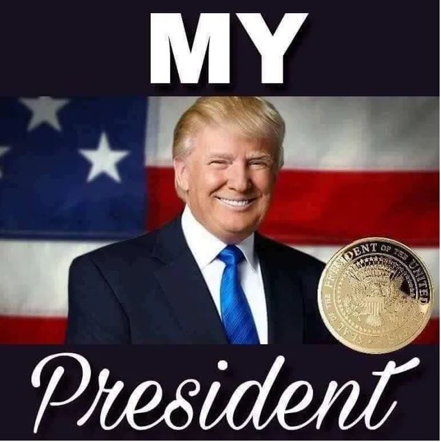 trump my president