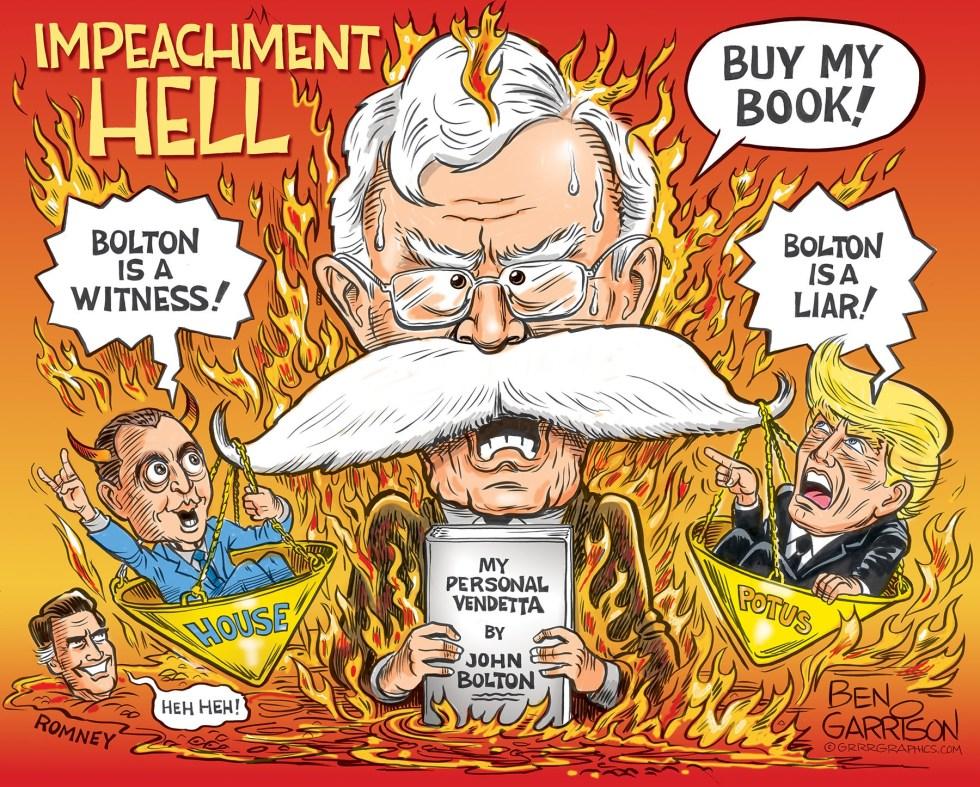 garrison impeach hell