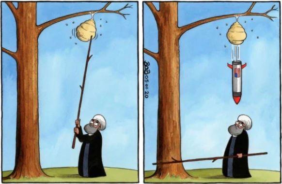iran hornet nest