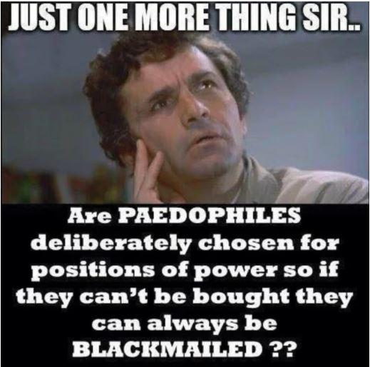 pedophiles blackmail