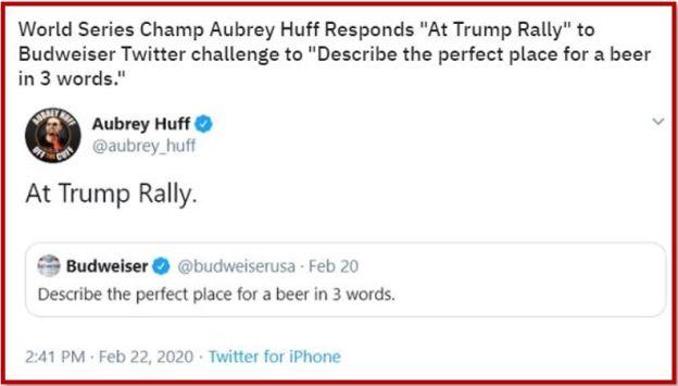 beer trump rally