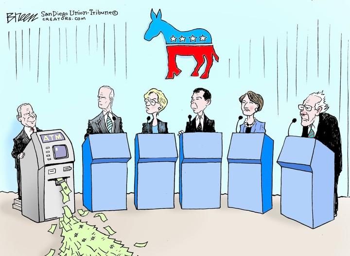 democrat debate bloomberg