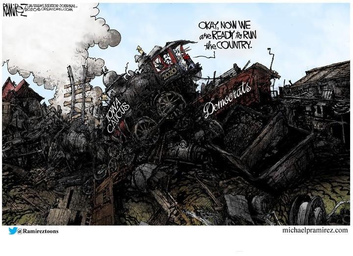 democrats iowa train wreck