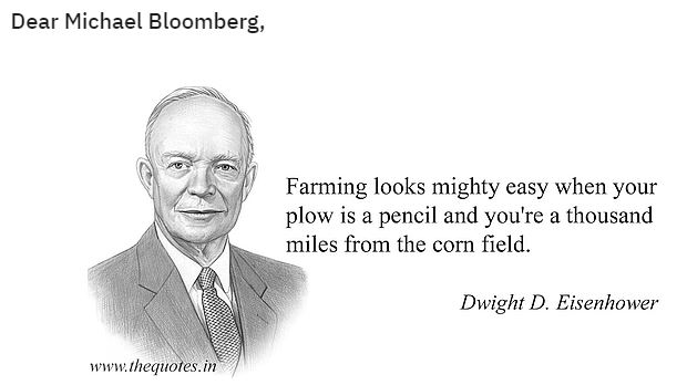 eisenhower bloomberg farmer
