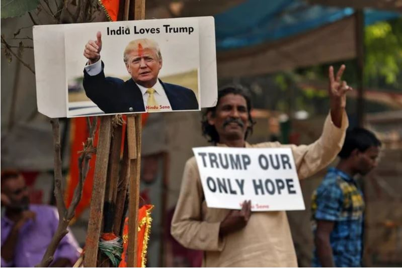 india loves trump
