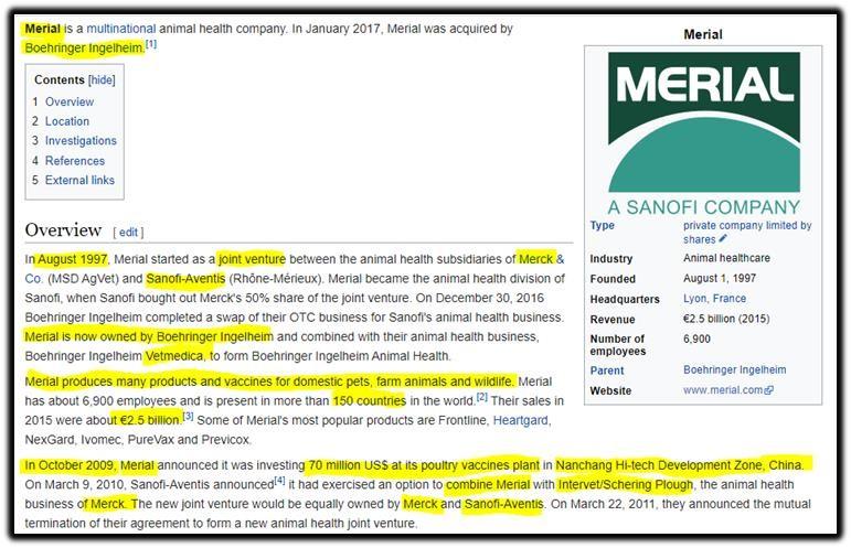 merial pharma