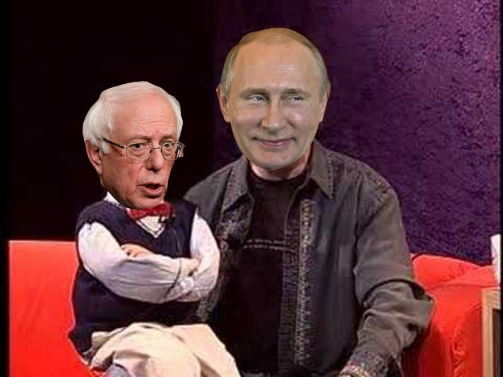 putin bernie sanders puppet