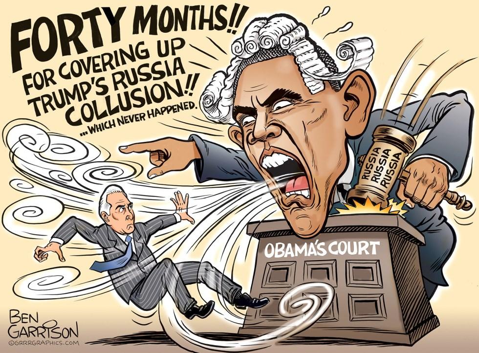 russia collusion stone obama garrison
