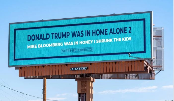 trump bloomberg billboard ad 1