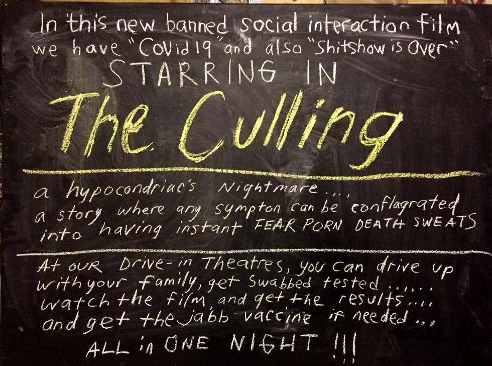 chalk culling
