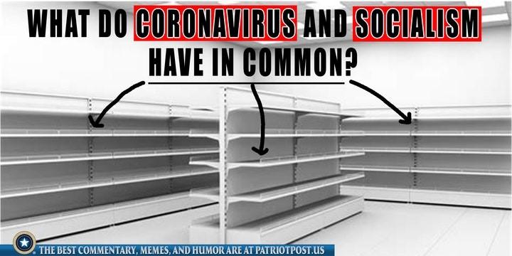 coronavirus socialism