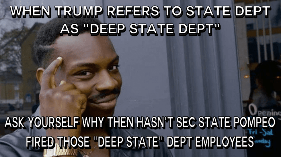 deep state department