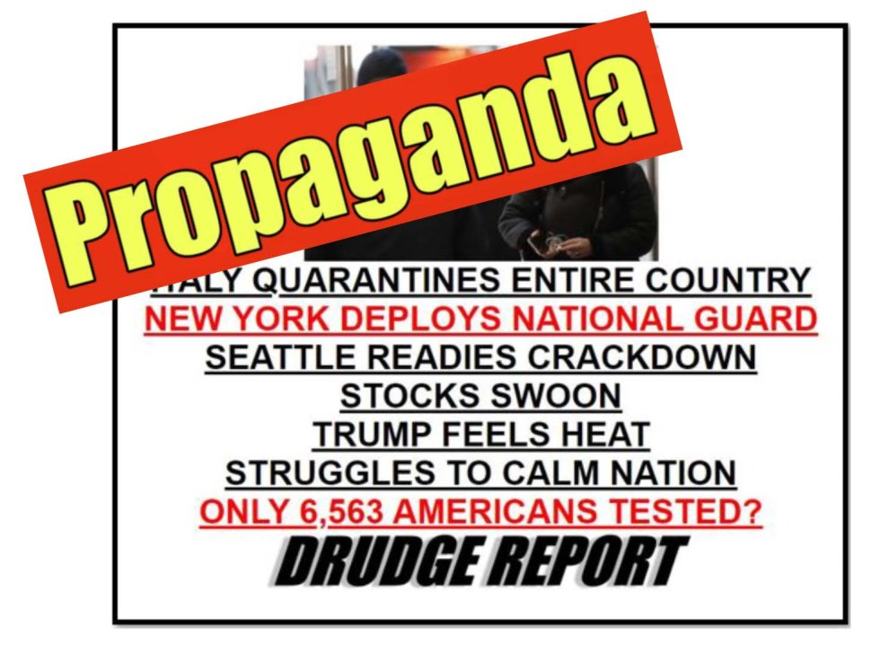 drudge propaganda