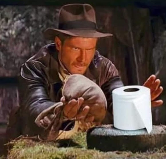 Harrison ford toilet paper