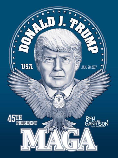 MAGA Trump garrison
