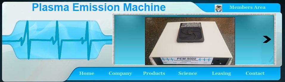 plasma emission machine